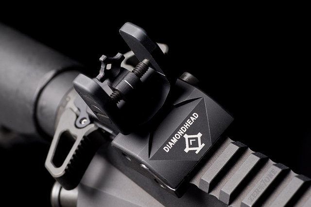ar15 iron sight