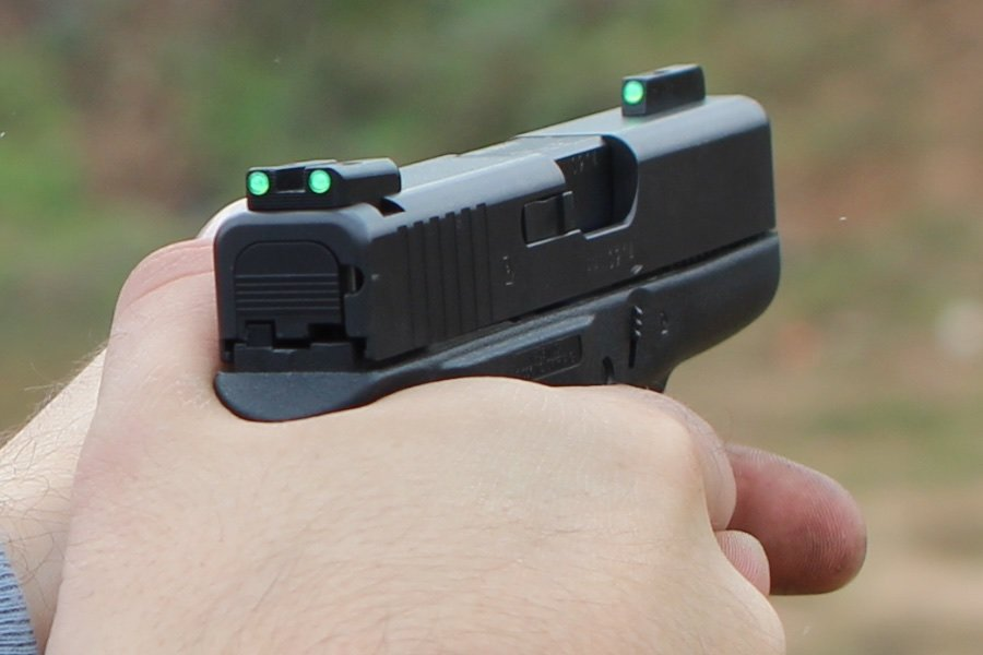 M&P Shield Night Sights