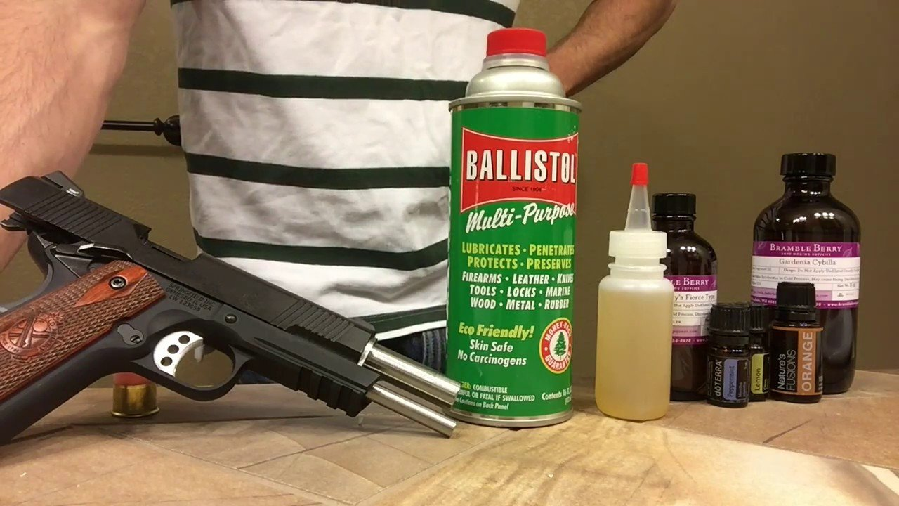 best gun oil and grease