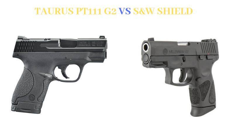 Taurus PT111 G2 S&W Shield