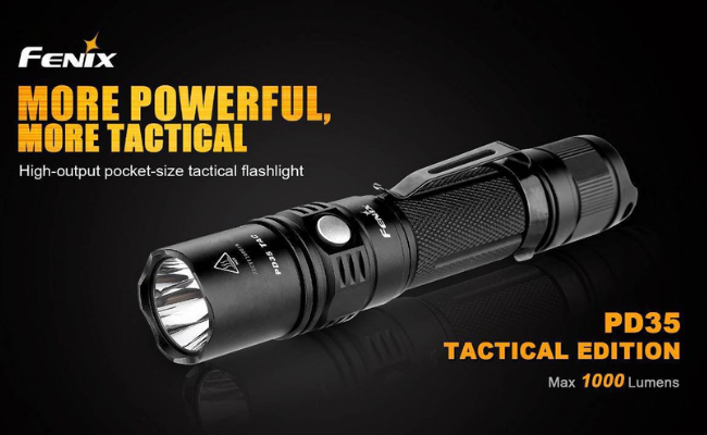 Fenix PD35 flashlight overview