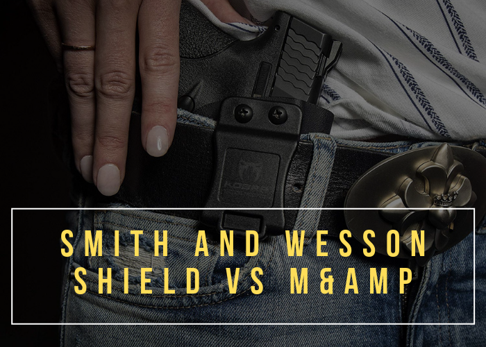 Smith and Wesson Shield vs M&P Compact