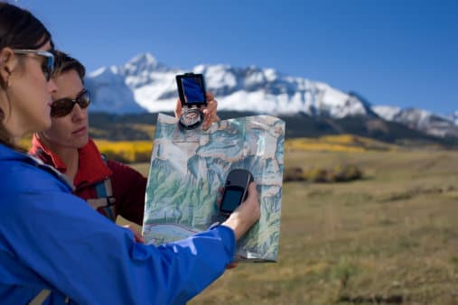 GPS for hiking