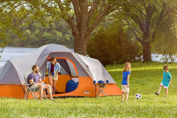 8 person tents camping