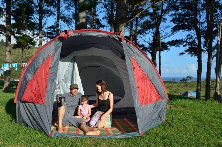 best 8 person tents camping